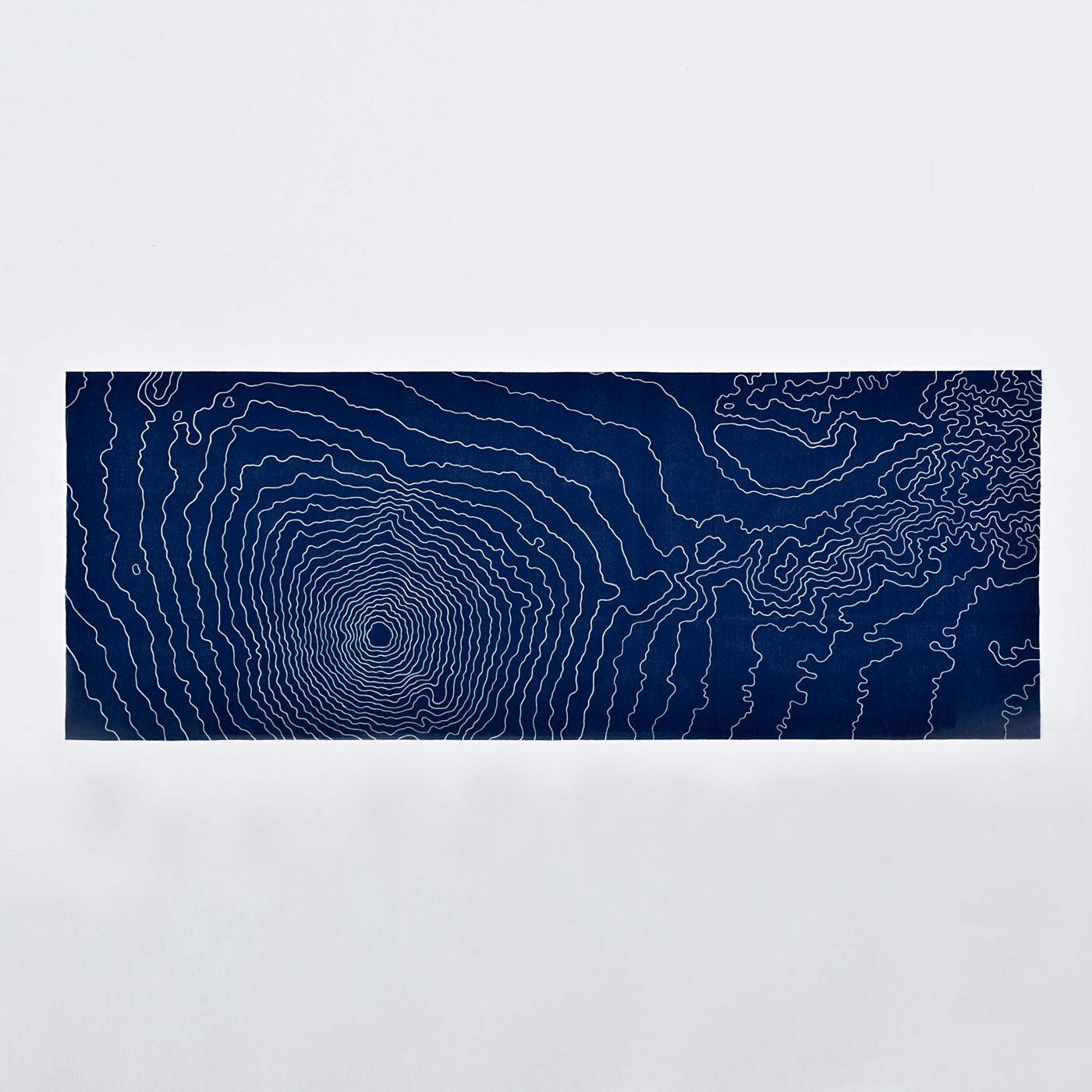 [京都府]手拭い 青富士