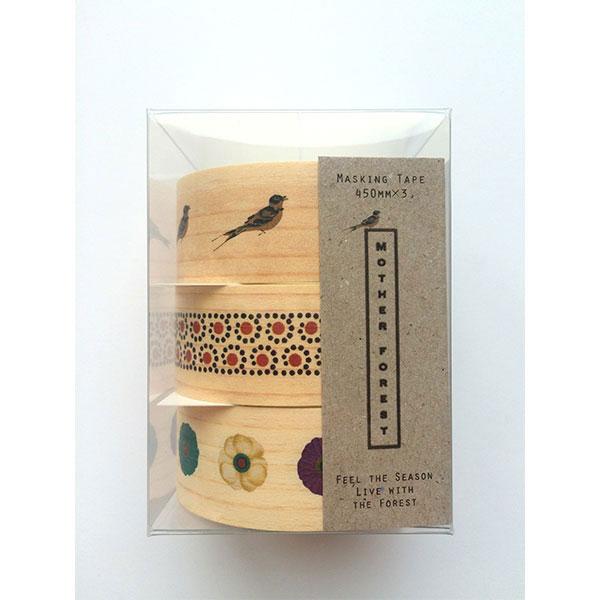 [奈良県]マスキングテープ 小 3枚セット