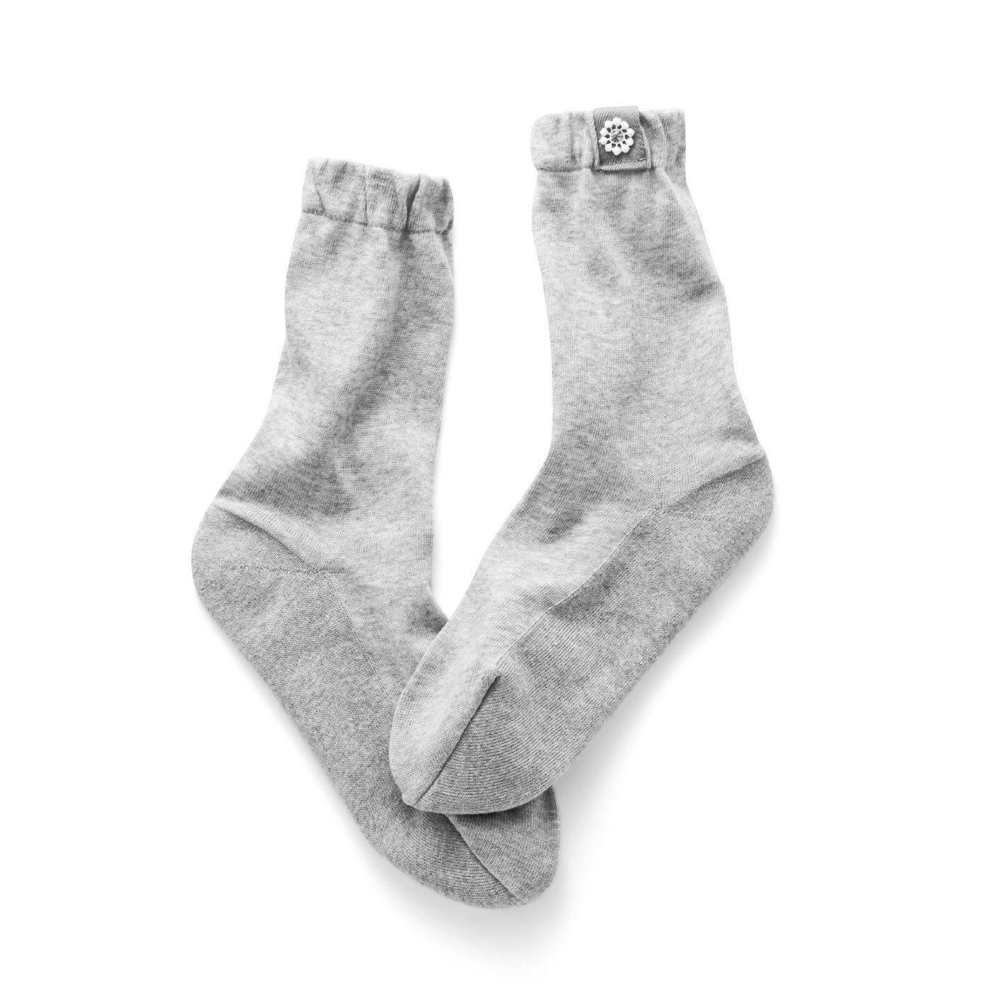 チャレンジド・クリエイティブ・プロジェクト ふかふかインソールのようならくちんクッション靴下
