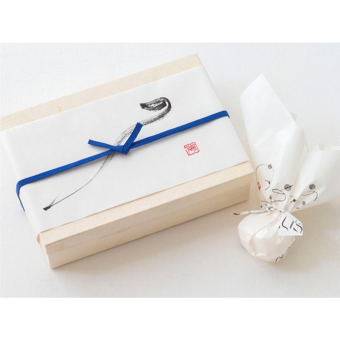 贈る ~オリジナルのしと包装紙で贈る。