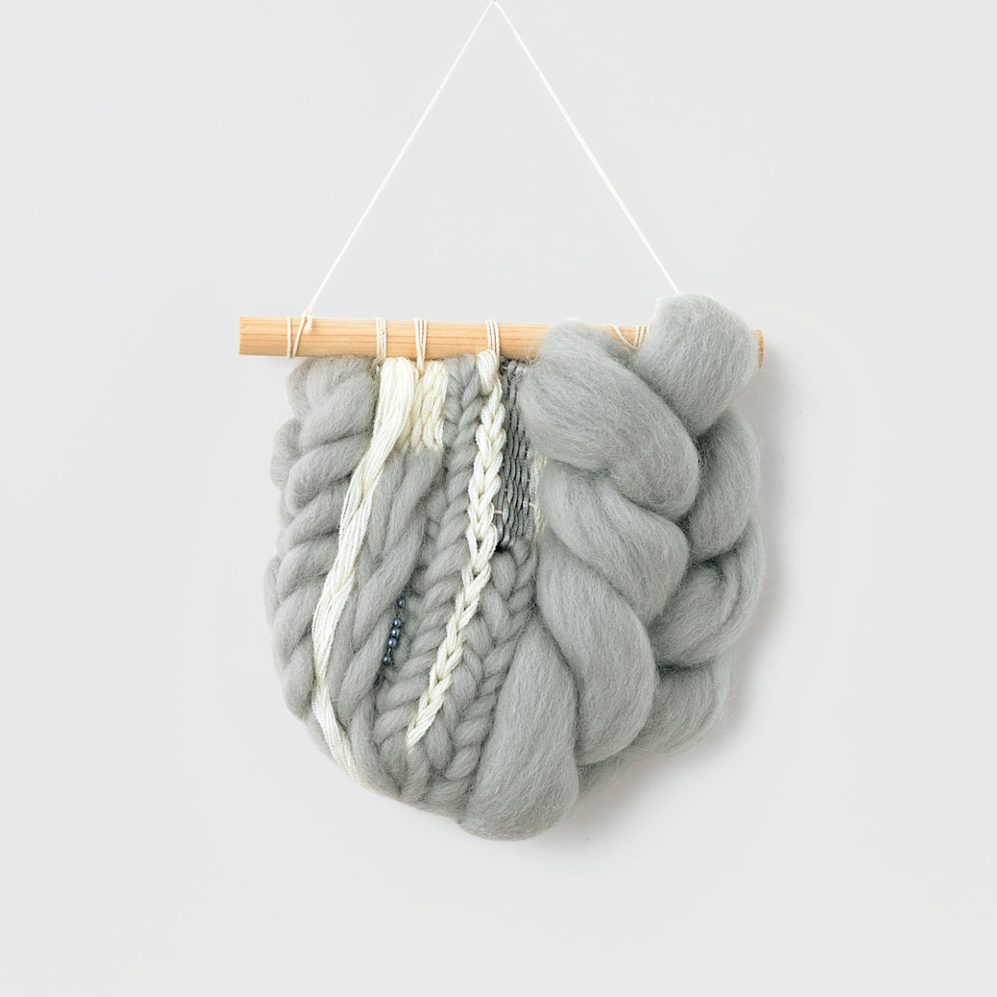 ウールのスマック織り