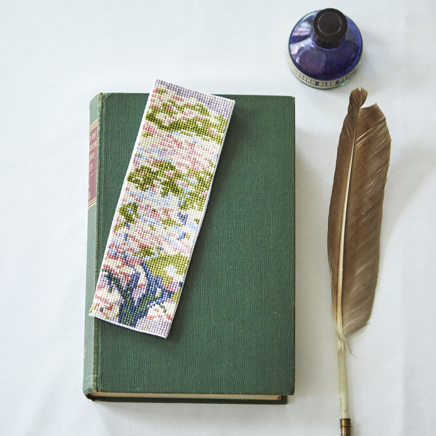 DMC×大英博物館 ウィリアム・ジャイルズ「花の木」(小)クロスステッチキット