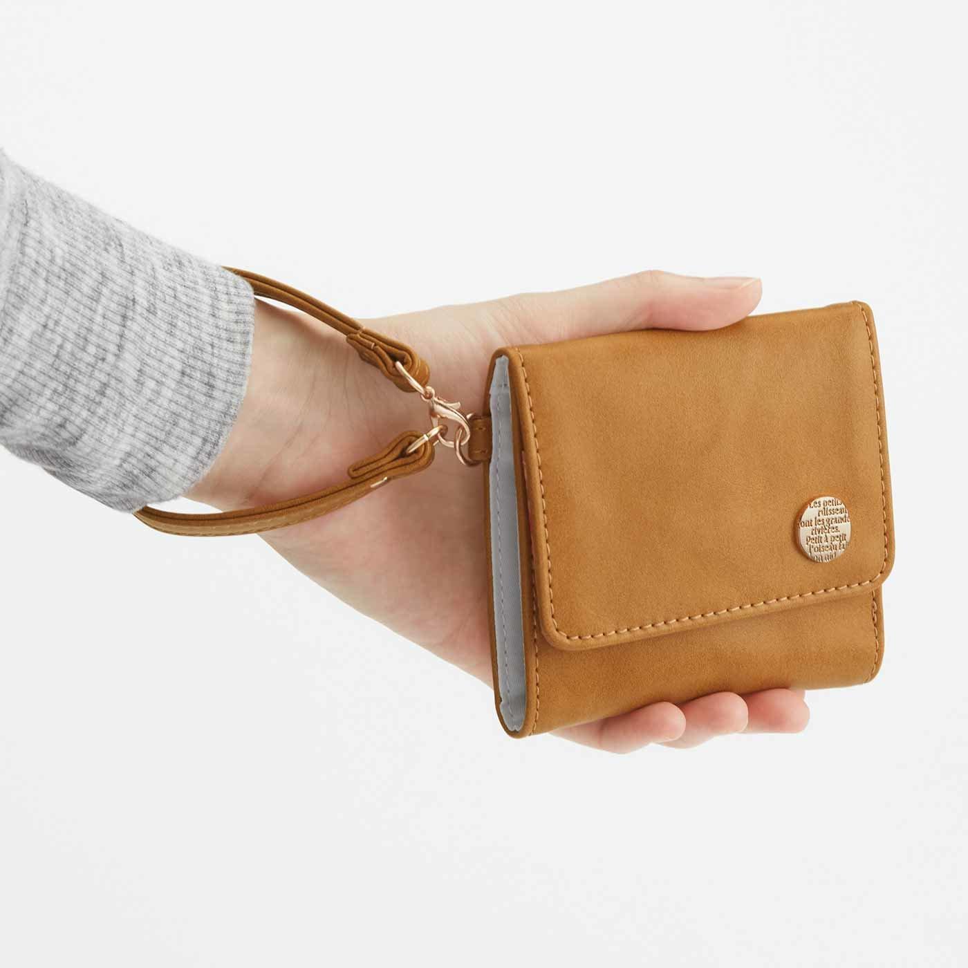 UP.de コンパクトが今の気分 大人かわいい手のり財布の会