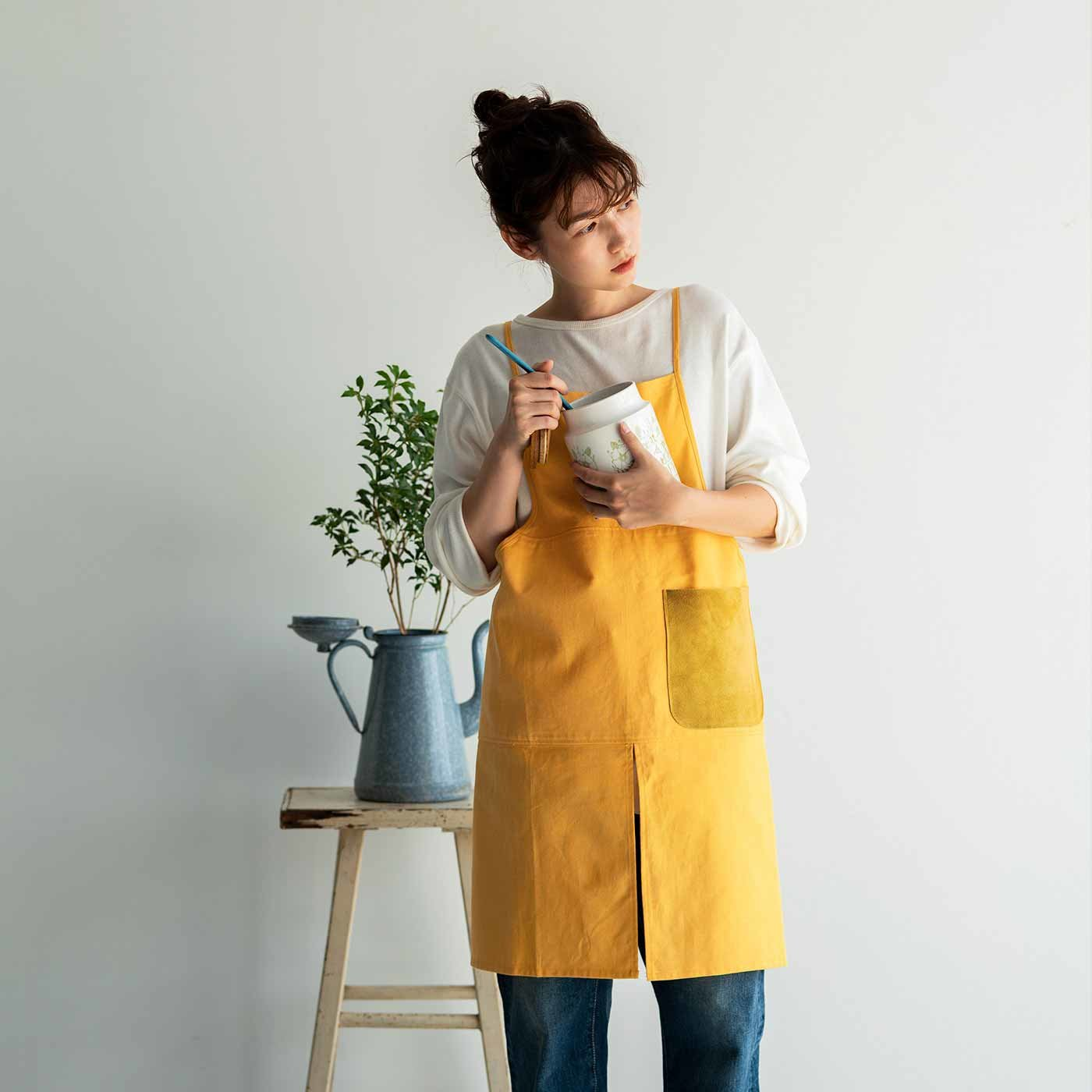 かもめ食堂さんが欲しかった 職人本革遣いの料理人タブリエ〈ハッピーイエロー〉