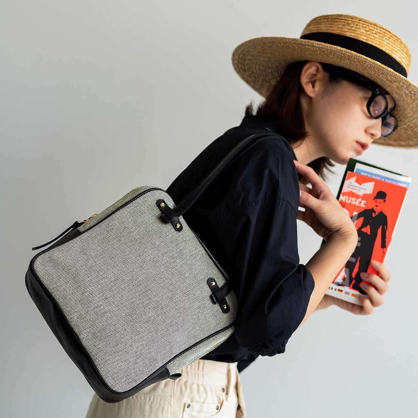ファッションスタイリストと作った 職人本革遣いのシネマバッグ〈ノアール〉
