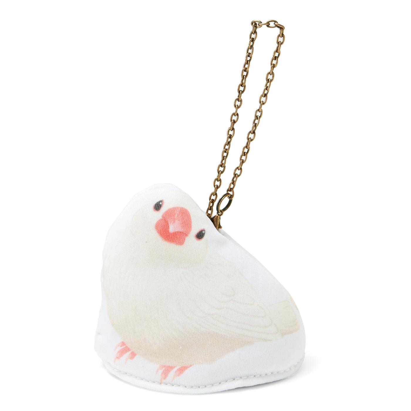 〈白文鳥〉