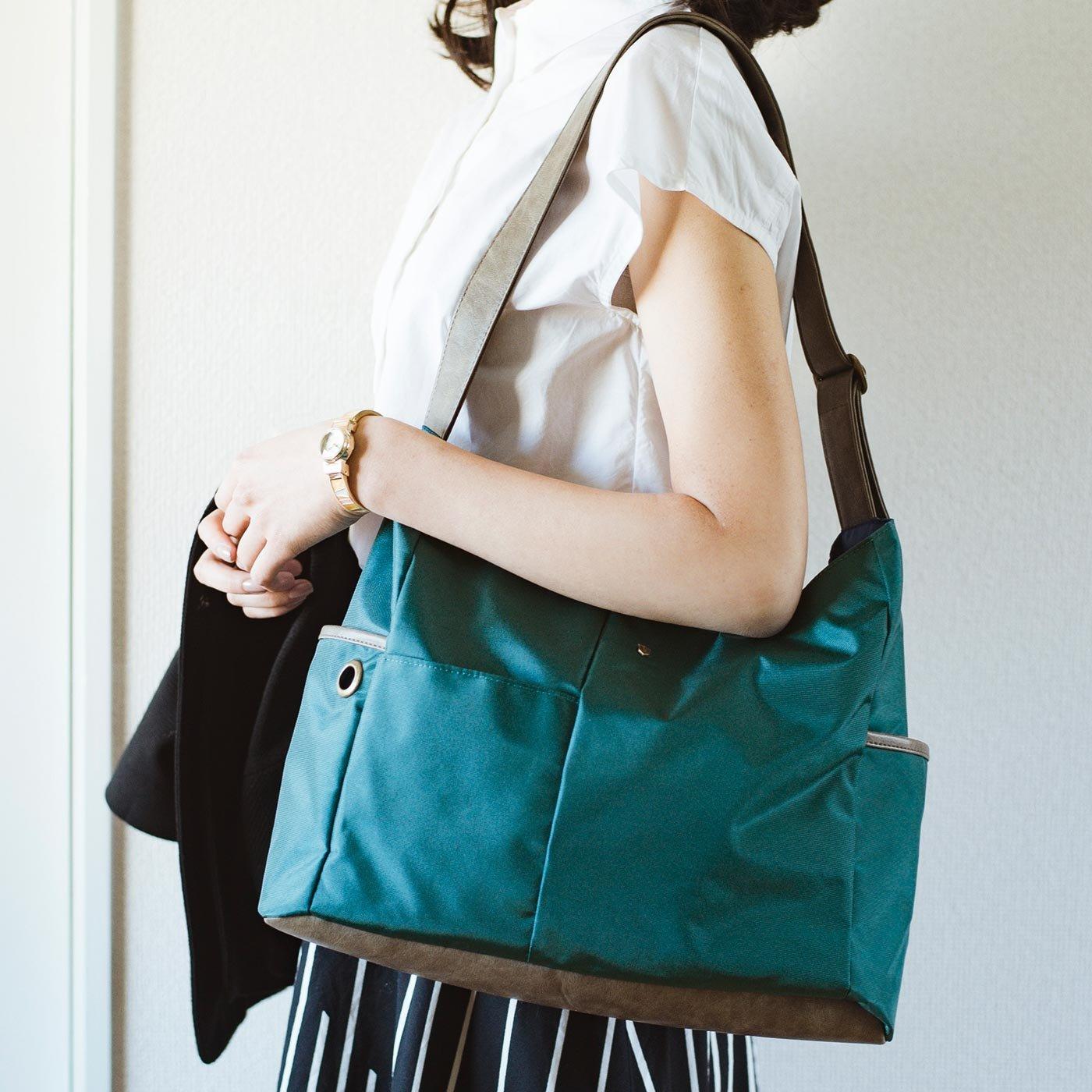 エッセイスト・整理収納アドバイザー柳沢小実さんと作った すっきりかしこくポケット収納 整理整とん軽量バッグ
