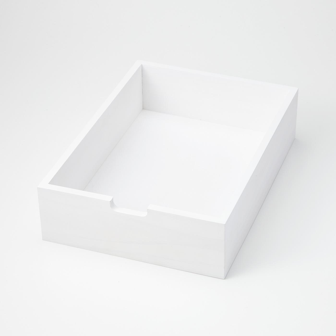[内側引き出し]トレイやケースとして単独でも使えます。