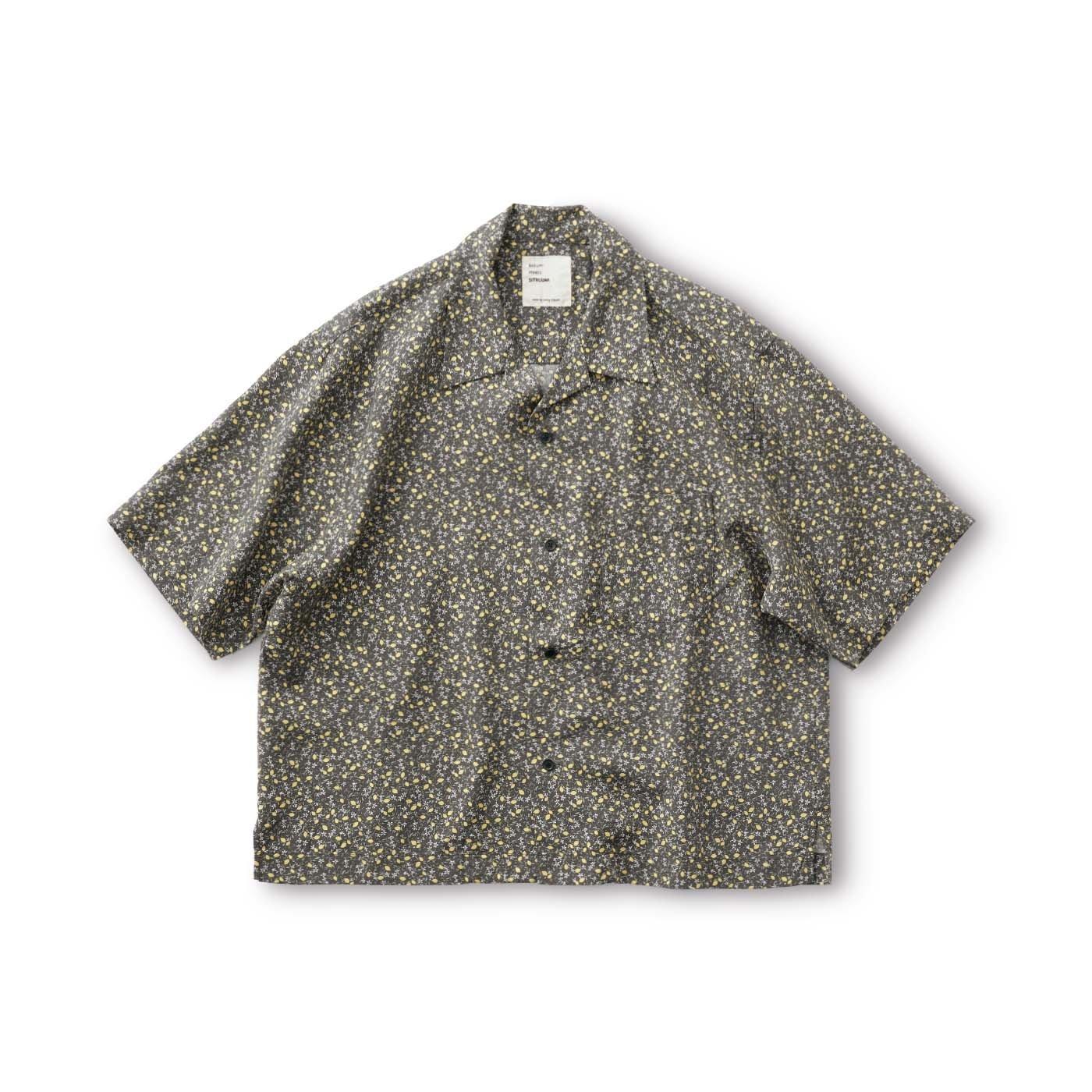 サニークラウズ シトルーナとkazumiのレモンアロハシャツ〈レディース〉