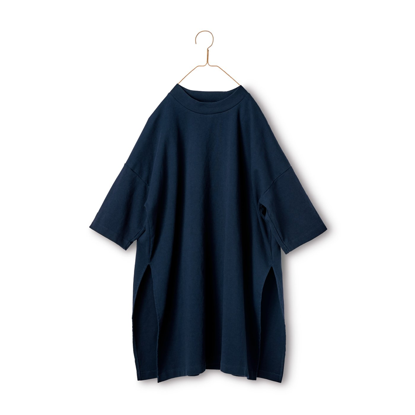 サニークラウズ ノッポのTシャツ〈レディース〉紺