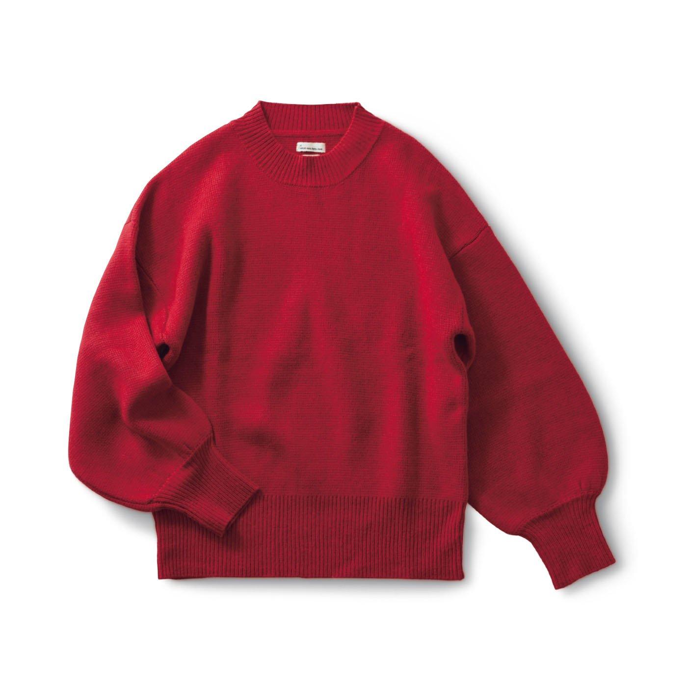サニークラウズ kazumiのまっ赤なセーター〈レディース〉