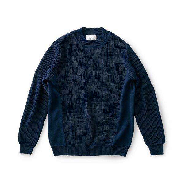 サニークラウズ 四種の編み地セーター〈メンズ〉