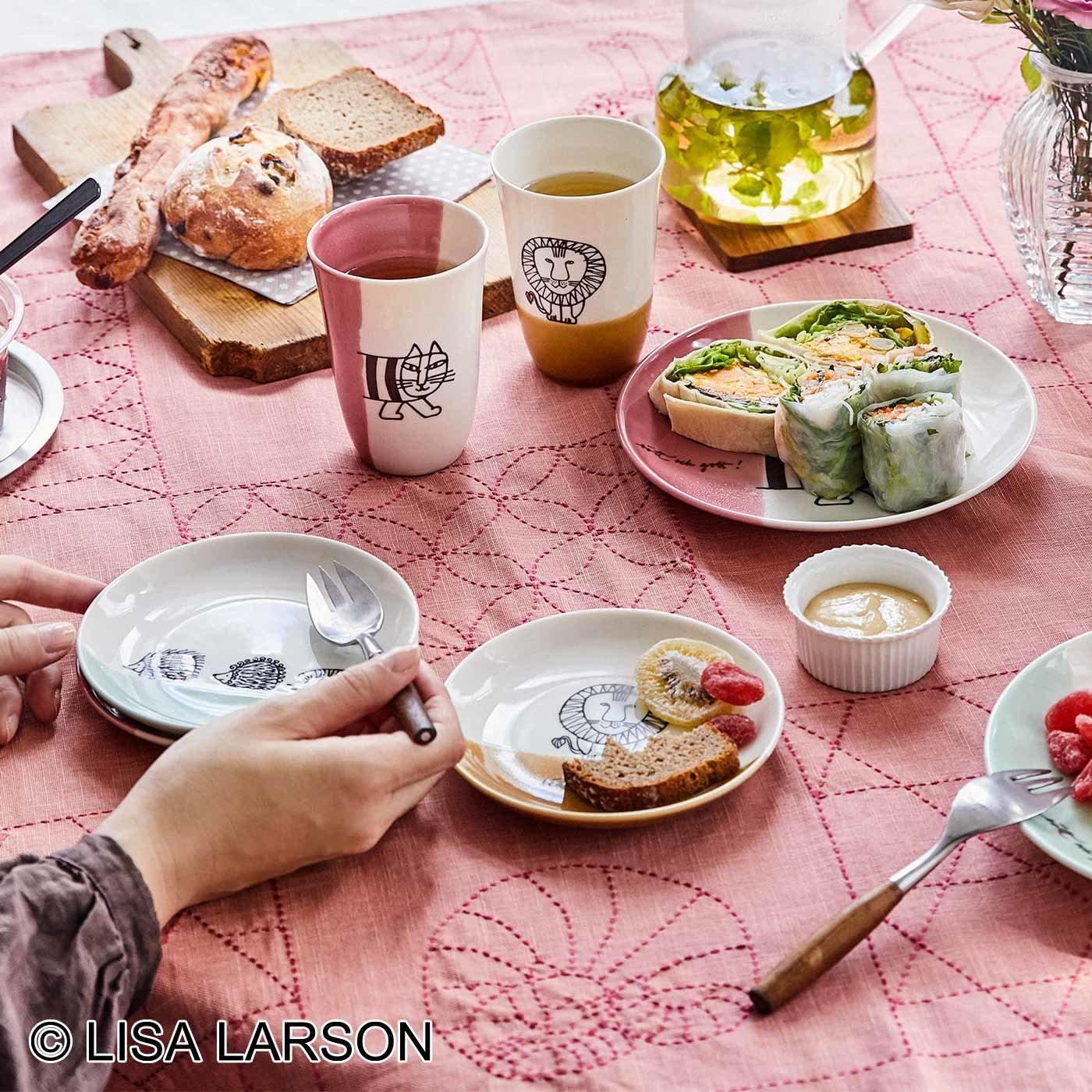 リサ・ラーソン 和にも洋にも使える 大きなお皿と小さなお皿の会