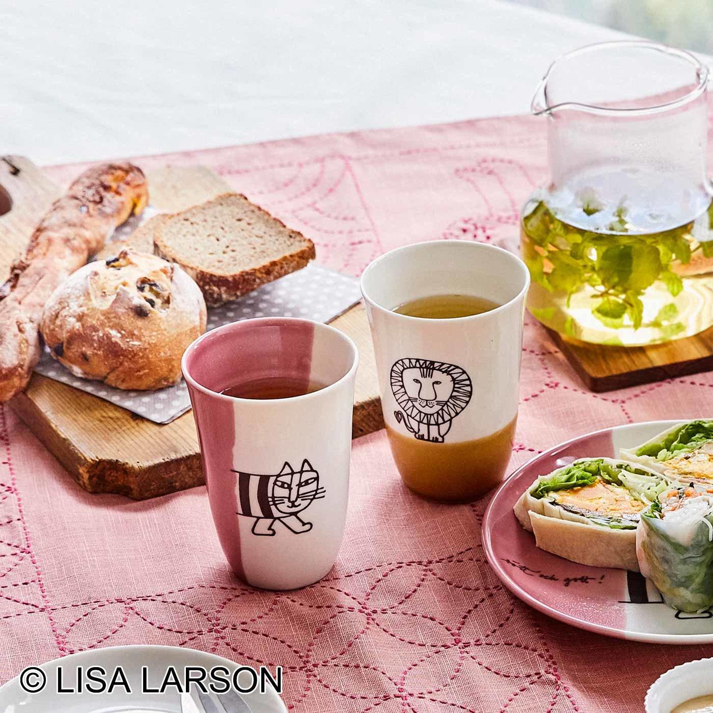 リサ・ラーソン 和にも洋にも マイキー&レオのフリーカップセット