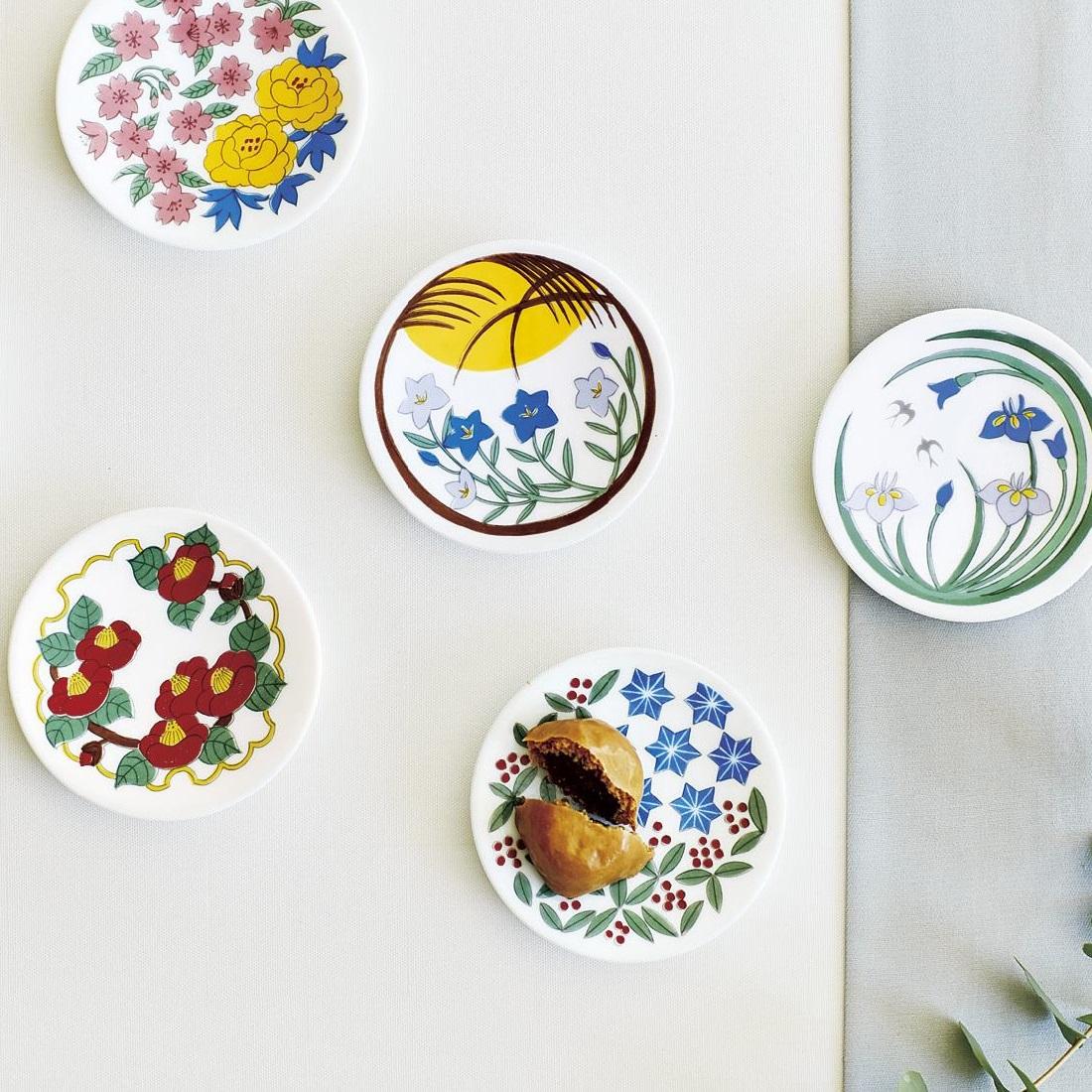 日本の四季を楽しむ 花紋豆皿の会