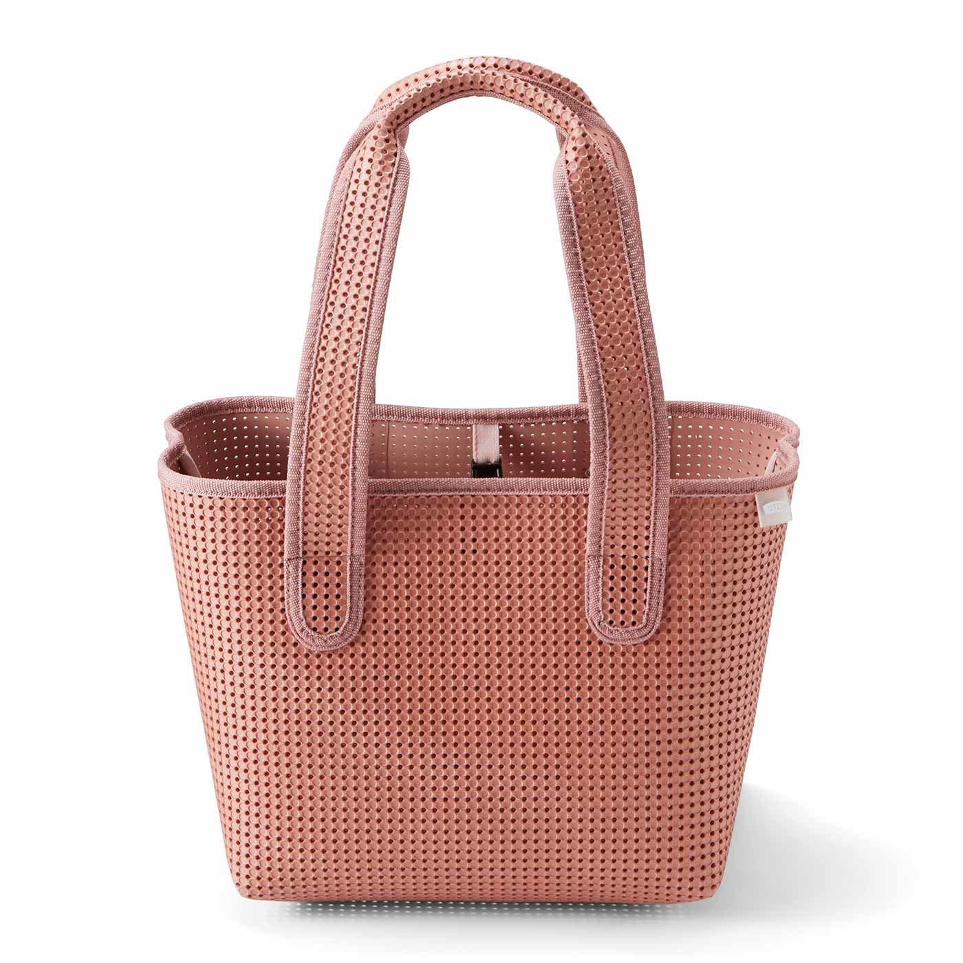 軽くて丈夫で洗える EVA素材トートバッグ〈グレイッシュピンク〉