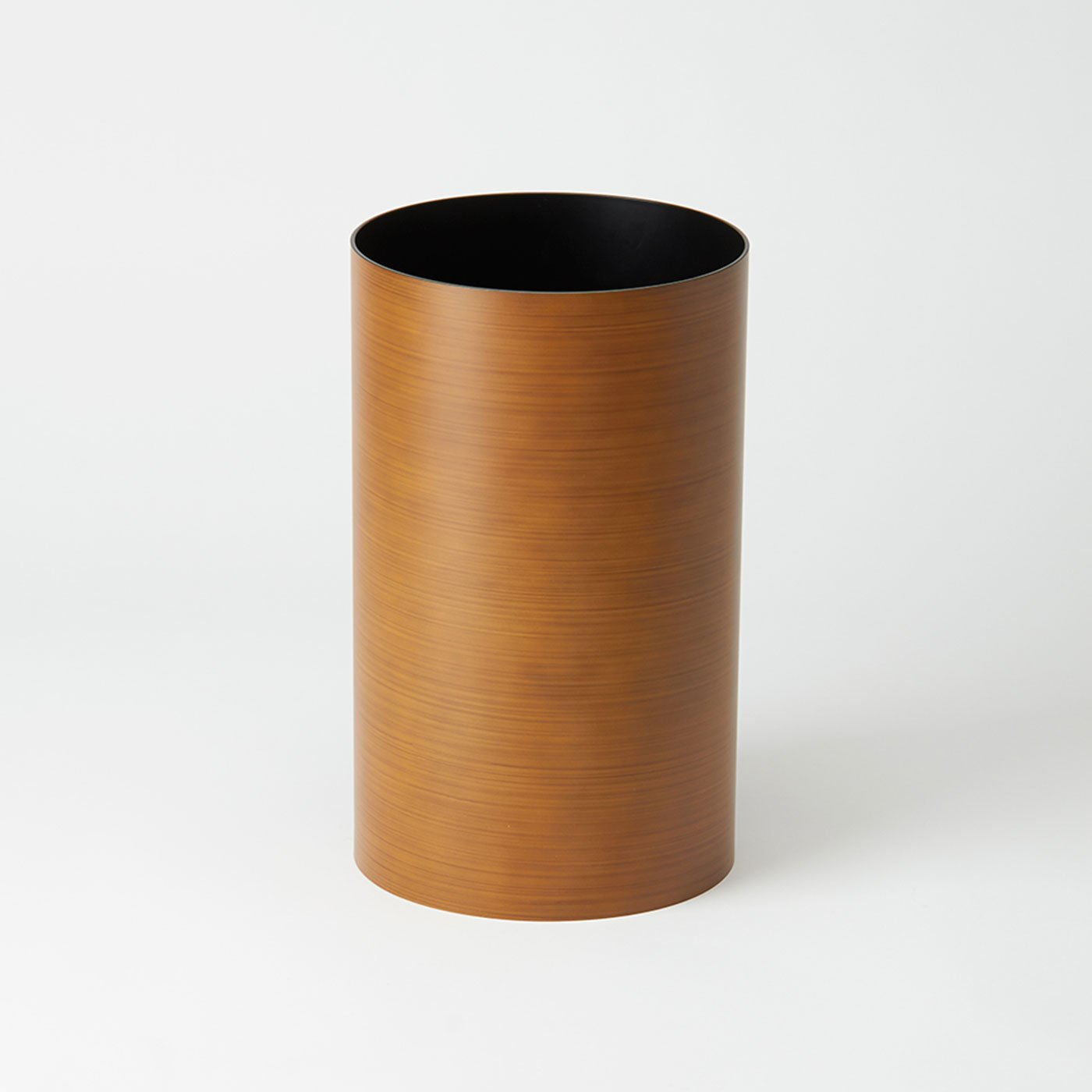 インテリアになじむ職人の木目塗り ダストボックスLL