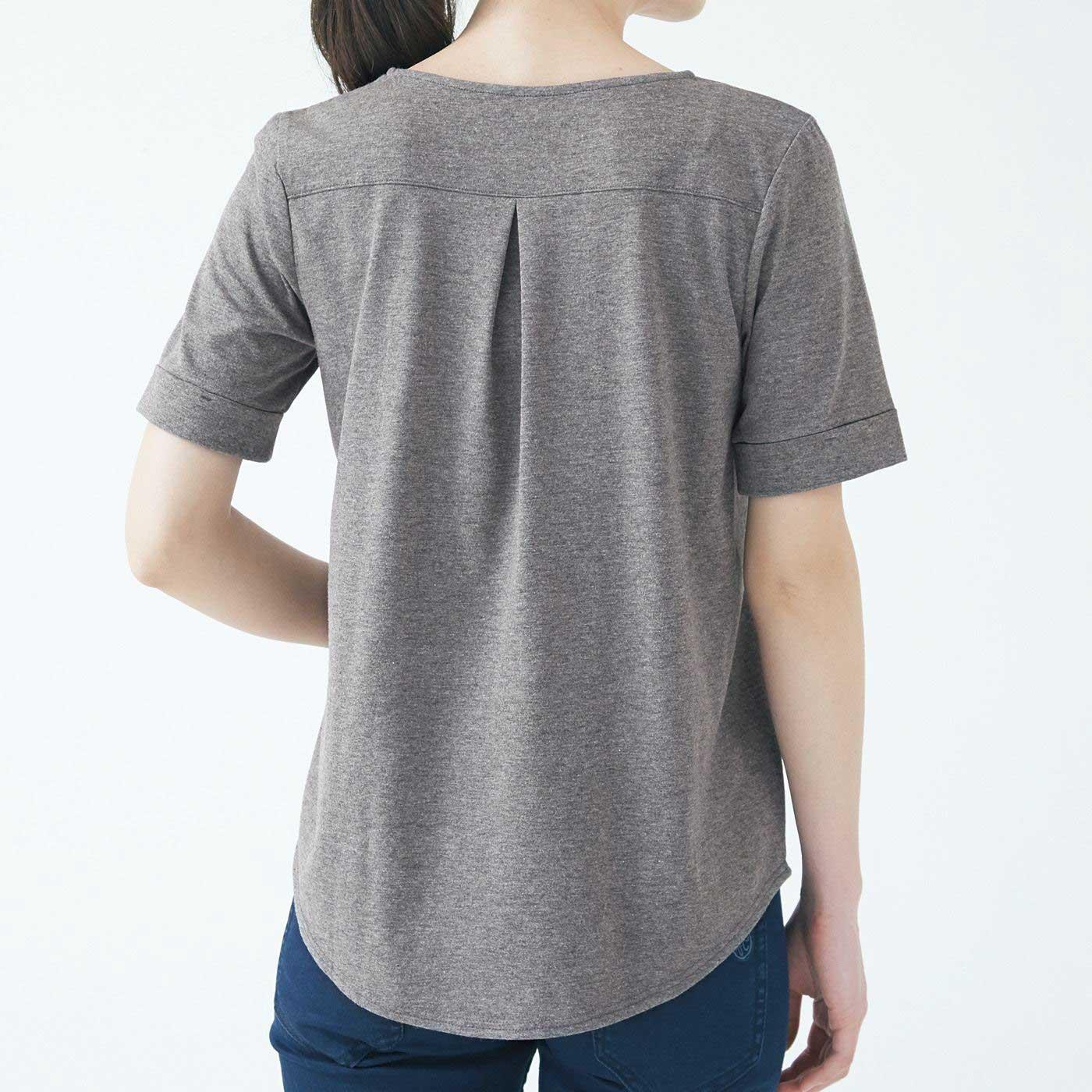 フラウグラット 一枚で主役級! こだわりの立体設計 汗じみ対策Tシャツの会