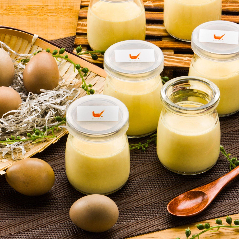 [鹿児島県大崎町]シェフの魔法のアイスプリン 「キジの卵を使ったPremiumたまごぷりん」