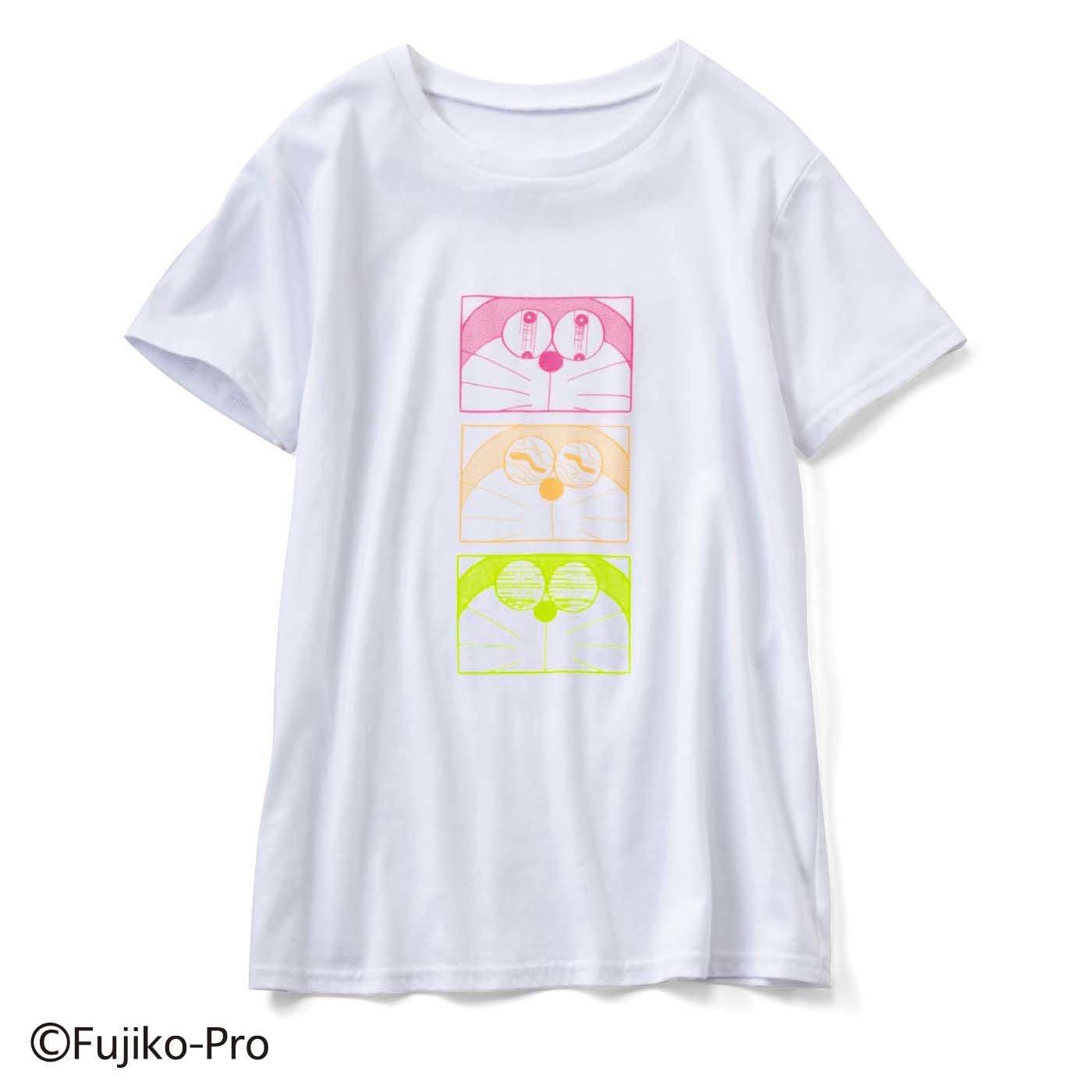 【3~10日でお届け】ドラえもん いろんな表情が楽しい プリントTシャツ
