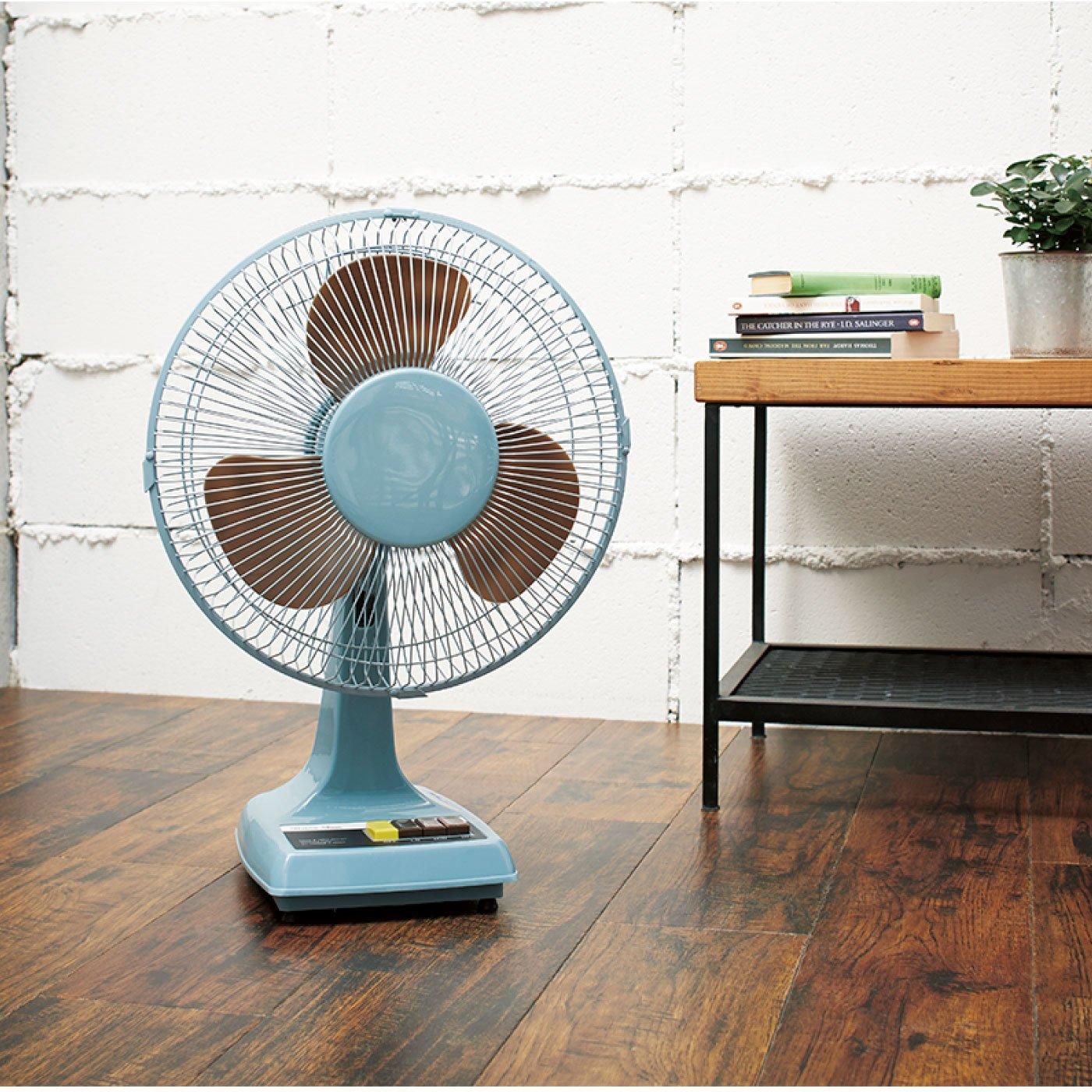懐かしいデザインが新鮮 レトロ扇風機