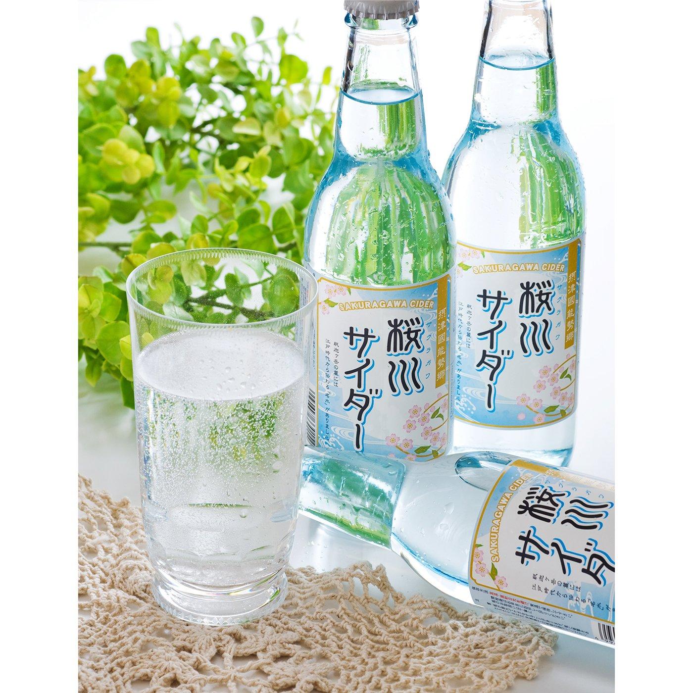 大阪の名水「桜川」のサイダー
