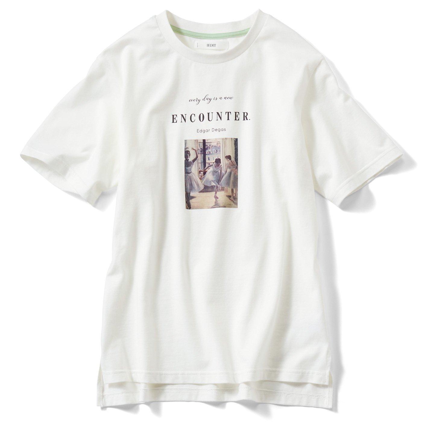 IEDIT[イディット] 印象派アートグラフィックTシャツの会