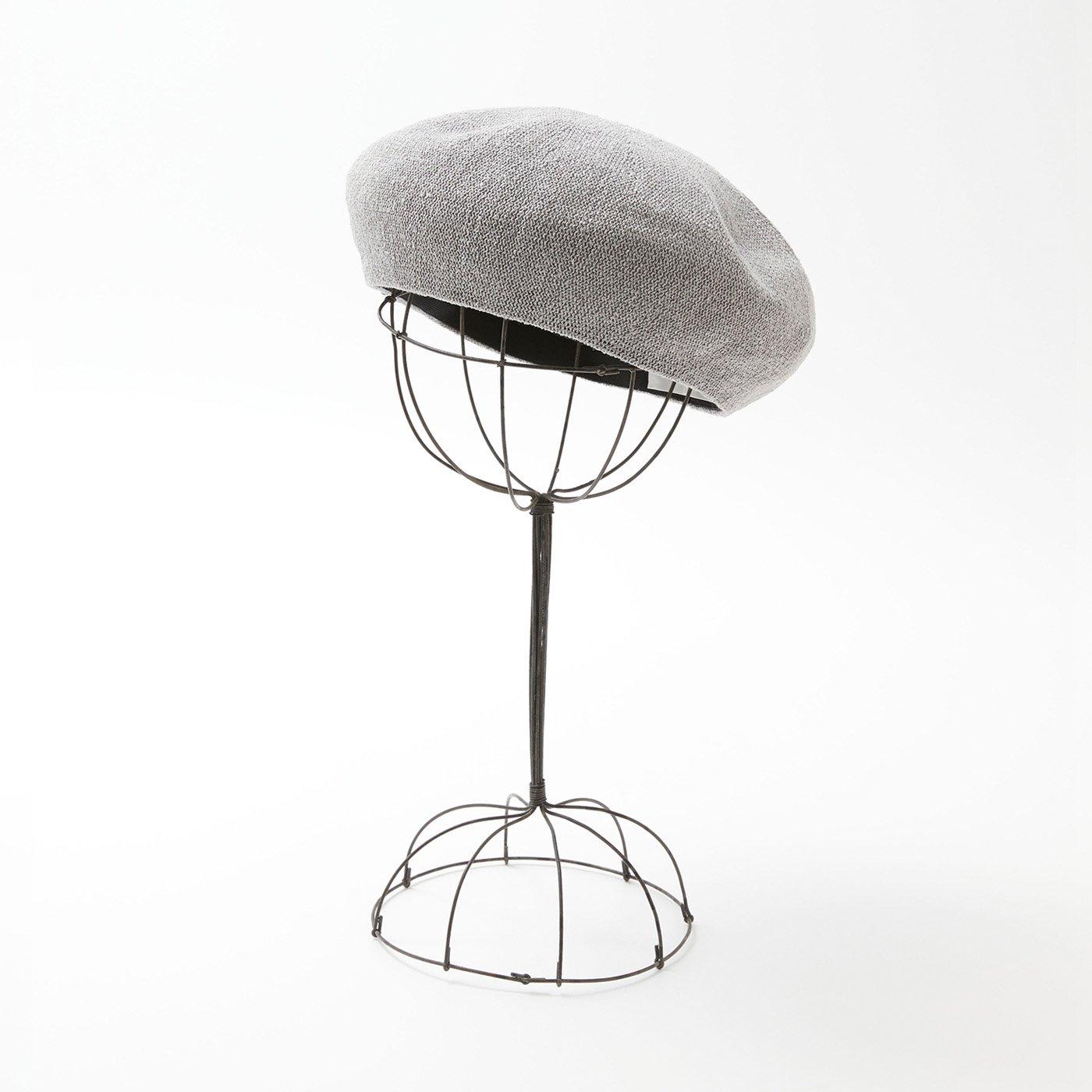 odds 夏のベレー帽〈グレー〉