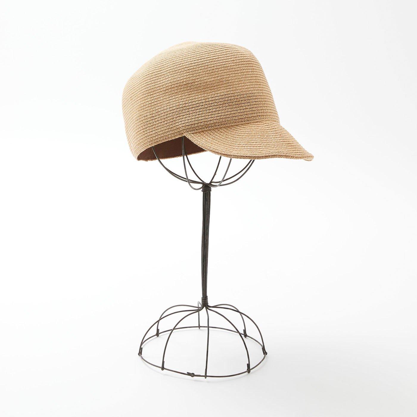 odds 夏のキャップ帽〈ナチュラル〉