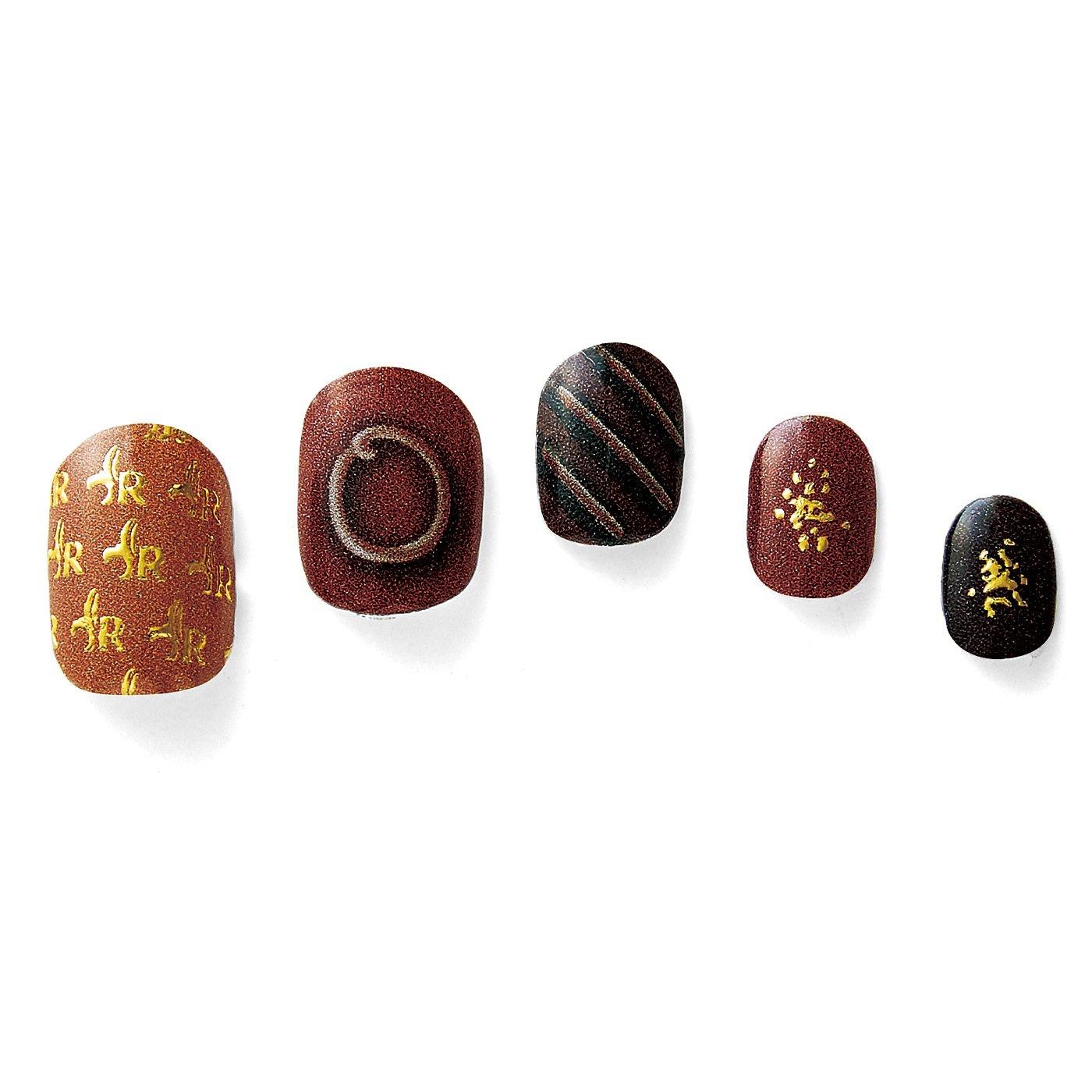 フェリシモ チョコレート ミュージアム 世界のショコラティエとコラボしたチョコ柄ネイルシールの会