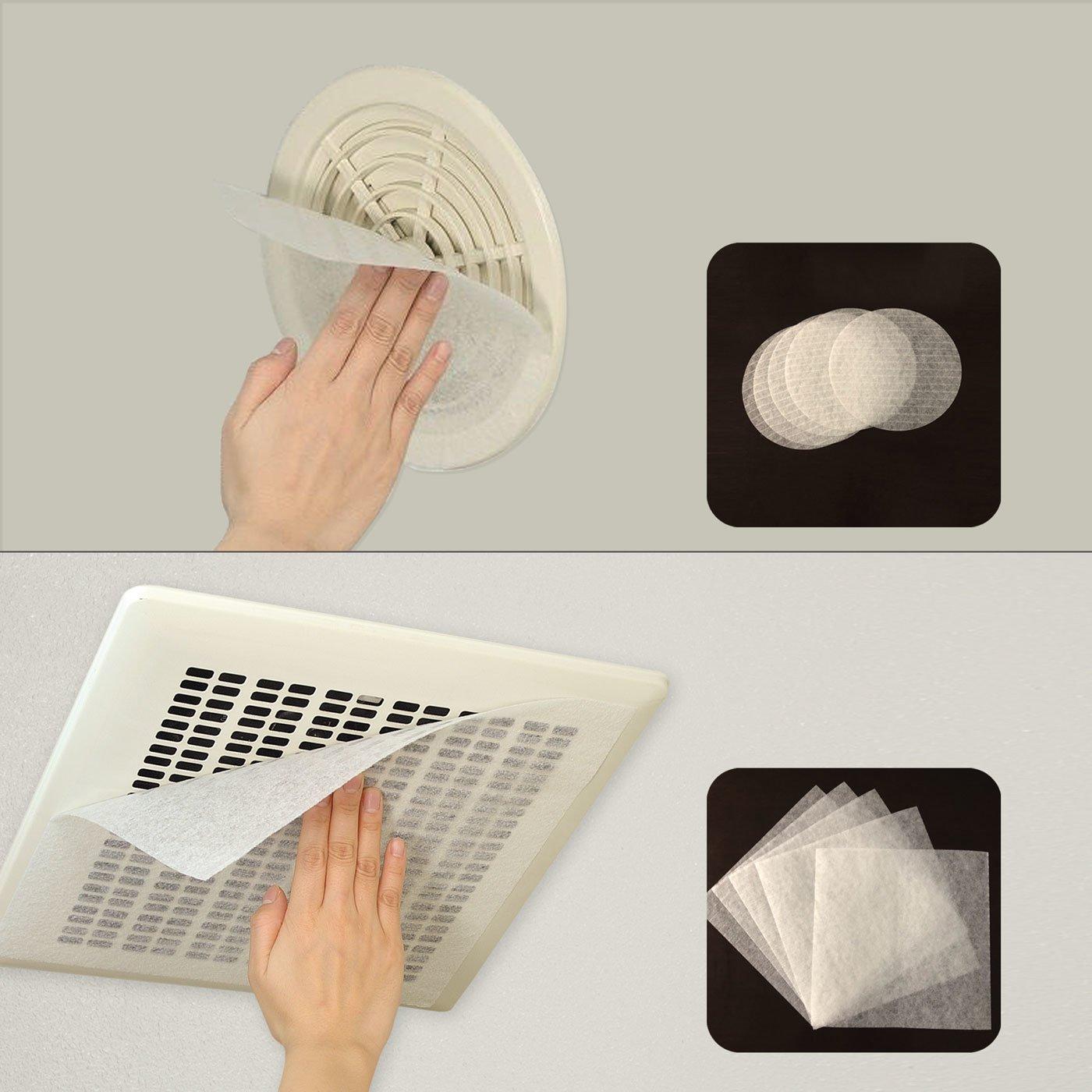 お風呂・トイレ用換気扇フィルター(36枚組)