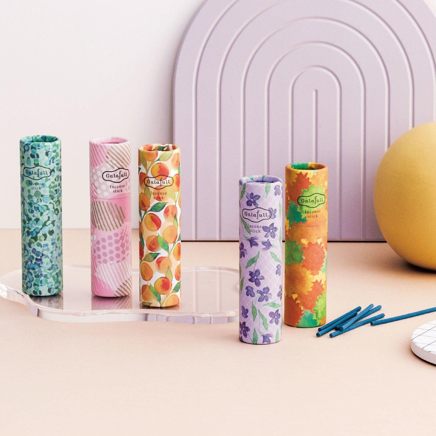 ガラフル すきま時間に香り咲かせる スティック香セットの会