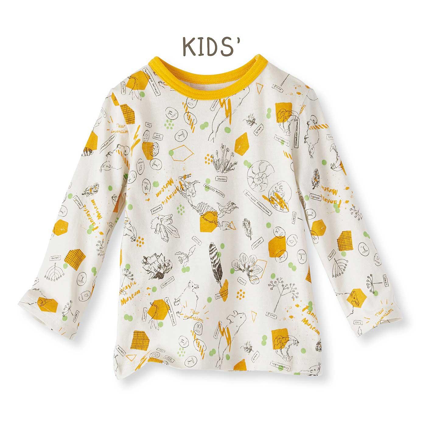ママイラストレーターよしいちひろさんとつくった 親子でミュージアム気分に浸れるTシャツ〈キッズ〉