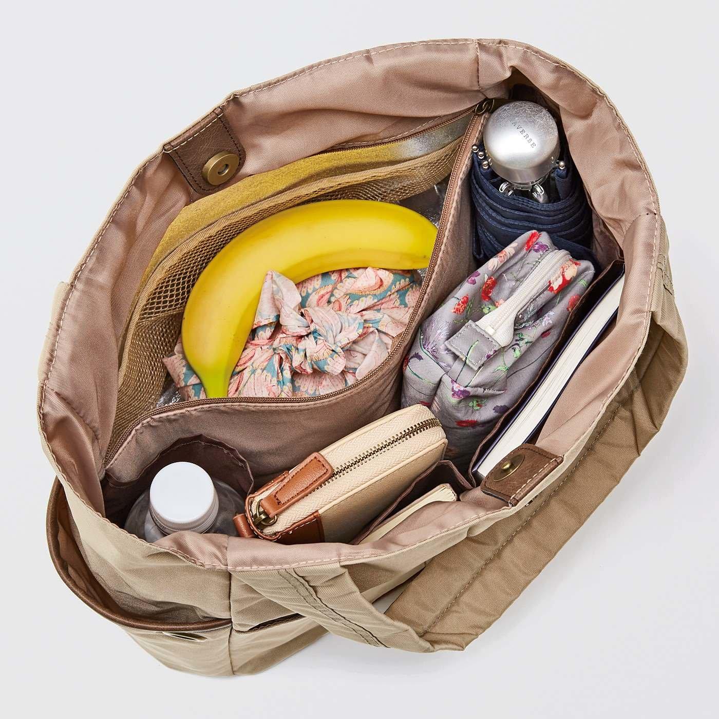 エッセイスト・整理収納アドバイザー 柳沢小実さんと作った お弁当派さんにうれしい 大容量の保冷ポケット付き整理整とん軽量トートバッグの会
