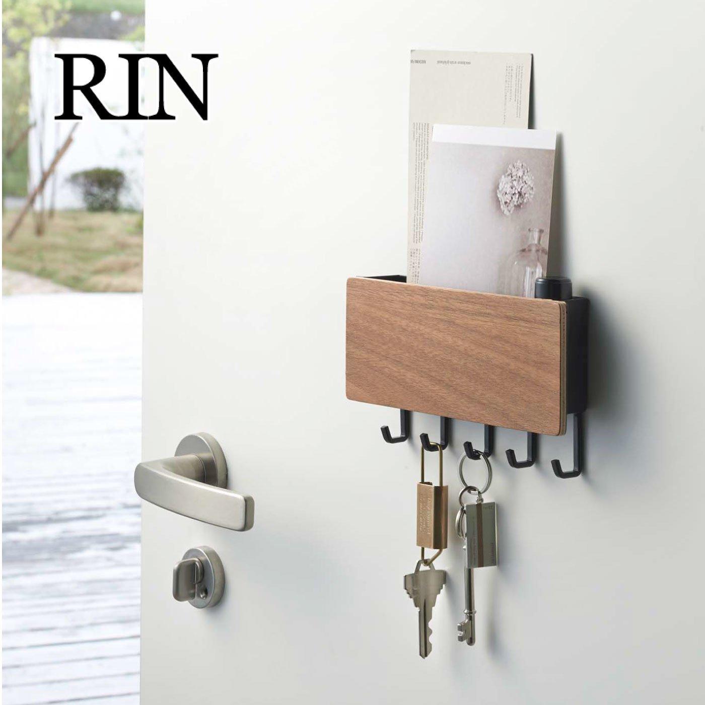 RIN ホルダー付きマグネットキーフック