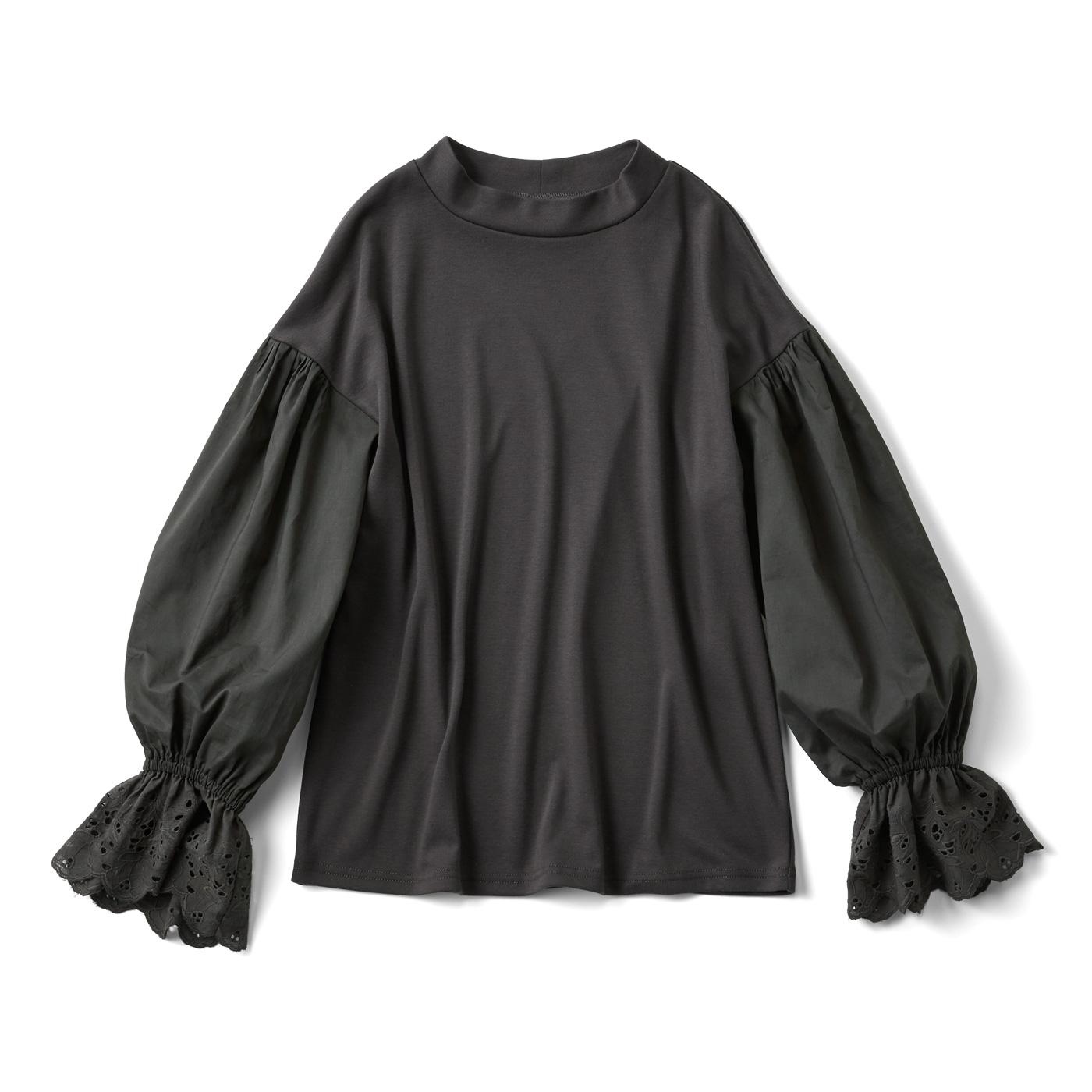 キュッとふんわり バルーンスリーブTシャツ
