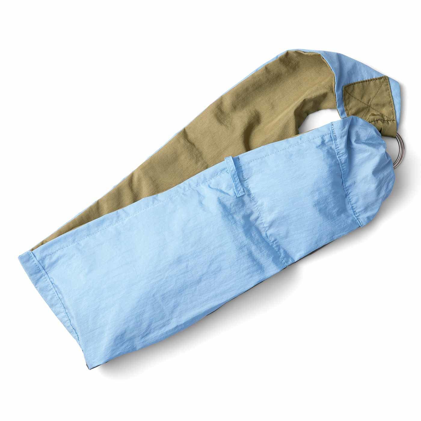 スカーフみたいに身にまといたい フィットしてらくちんな はっ水ウェアラブルバッグ