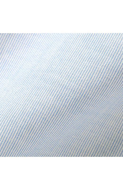 淡いブルーが上品な雰囲気