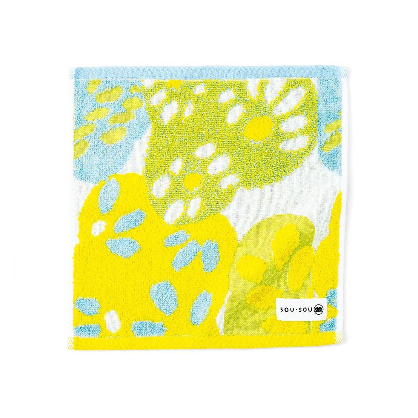 Squee! 「SOU・SOU」×「今治タオル」 肌ざわりやわらかジャカード織りハンカチの会