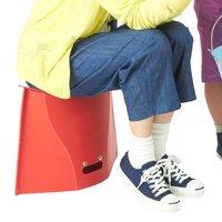 フェリシモ パタット折りたたんで 持ち運びもらくらく コンパクトスツール〈トール〉の会