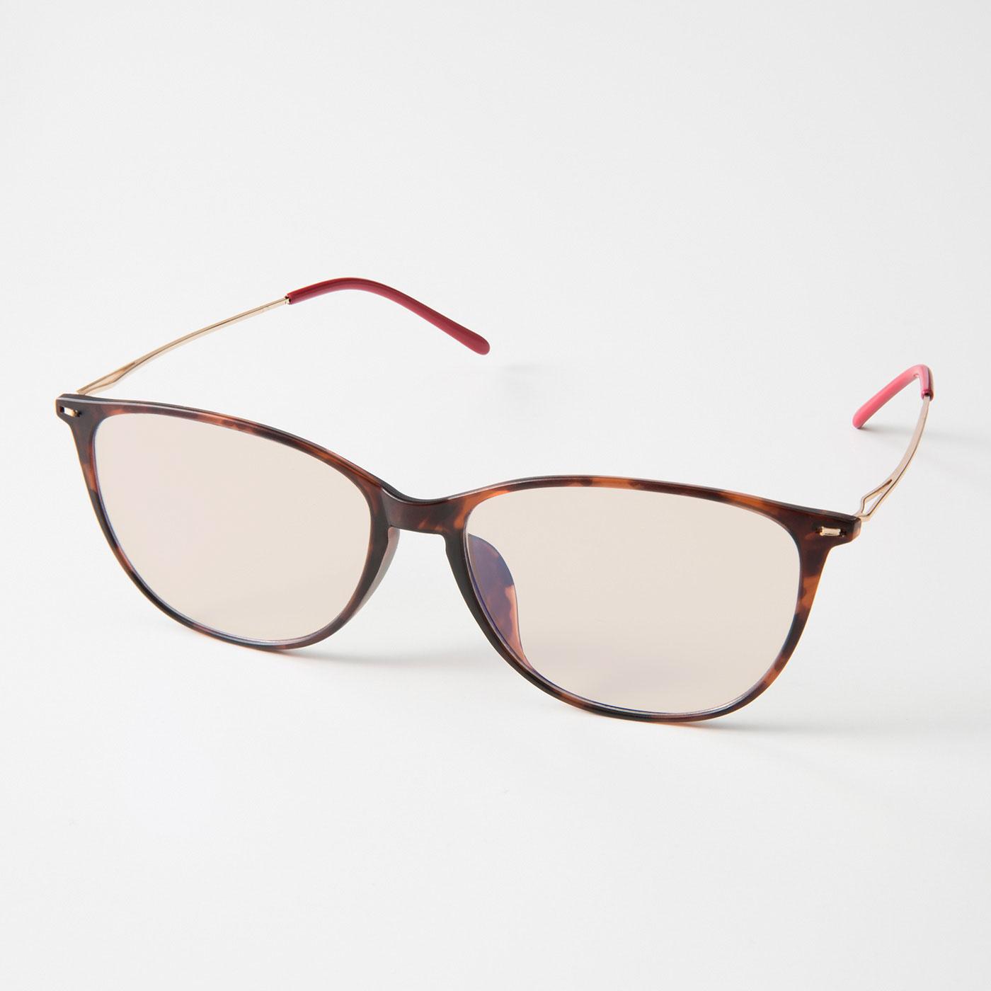 フェリシモ UVカット99% 眼鏡気分でかけられるクリアサングラスの会