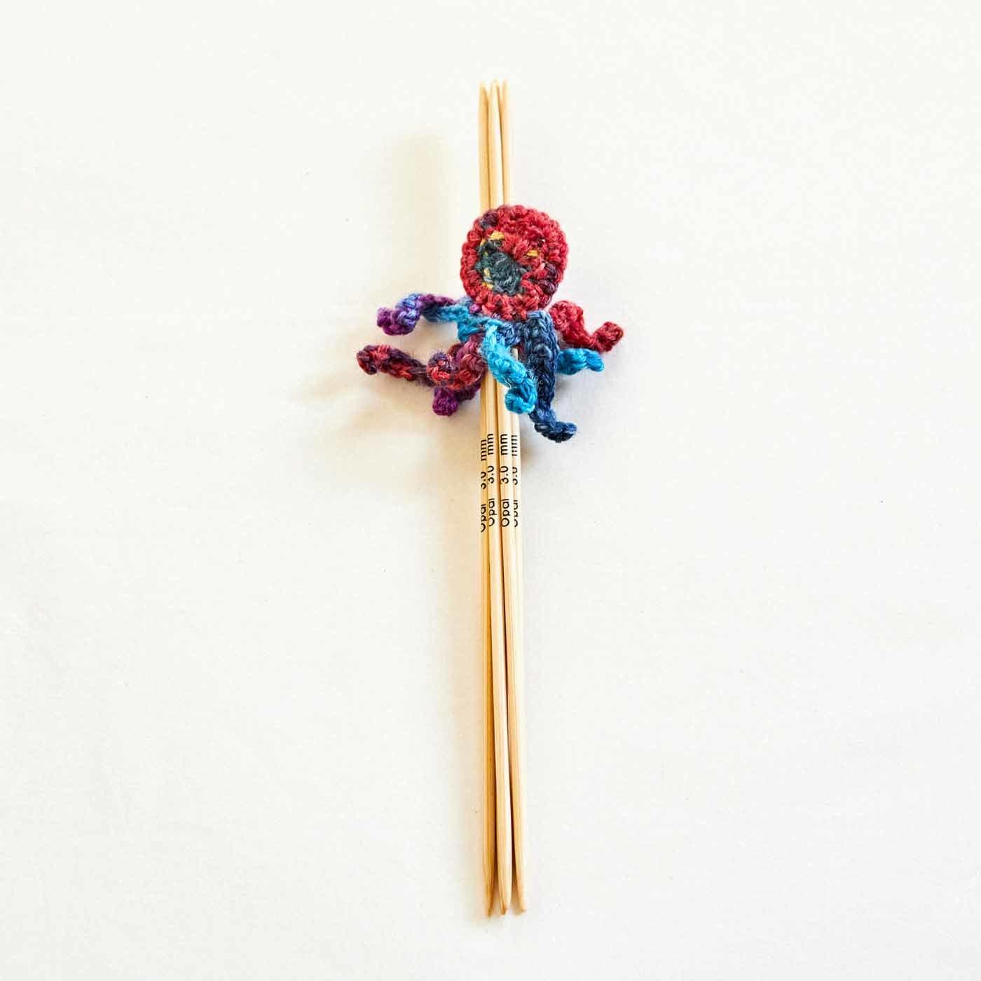 タコちゃん付き5本棒針(3mm)
