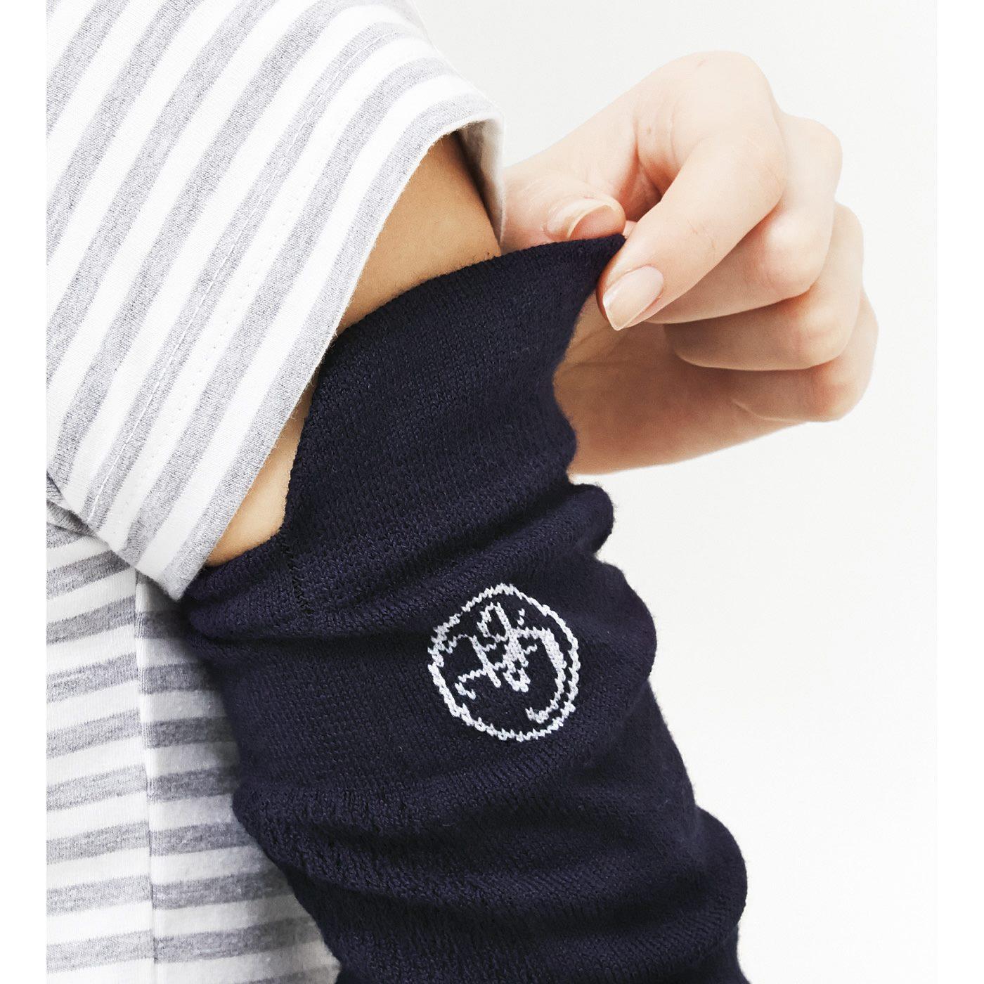 肩まわりをしっかり覆えるひさし付き。ノースリーブを着ていても安心。