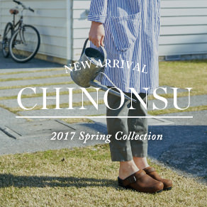 CHINONSU 2017 Spring collection