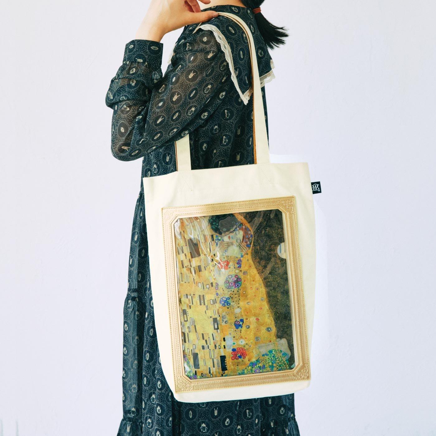 フェリシモミュージアム部 クリアファイルを絵画のように楽しむ マイミュージアムトートバッグ