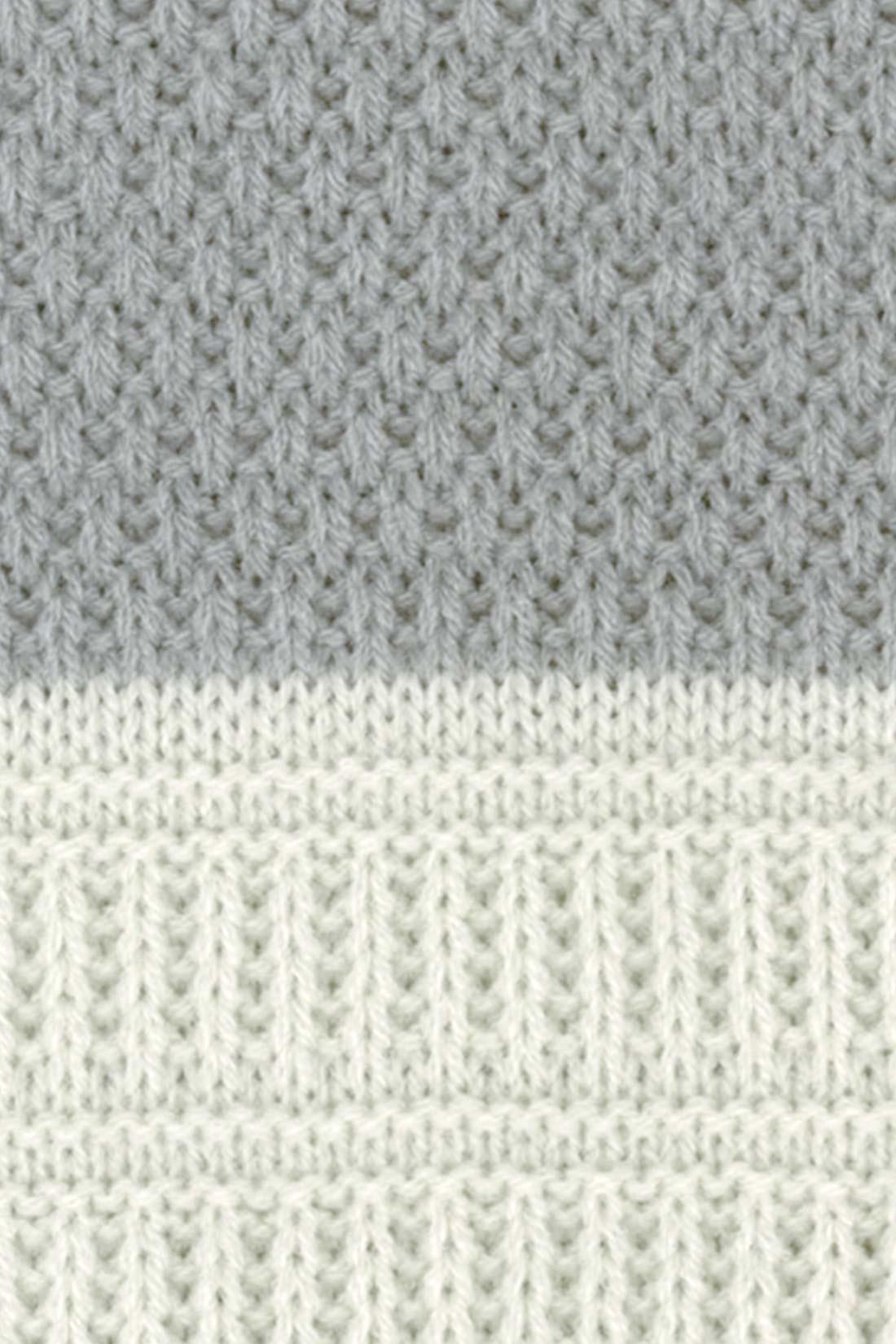 【色だけじゃなくて。】実は、編み模様もイロイロなんです。