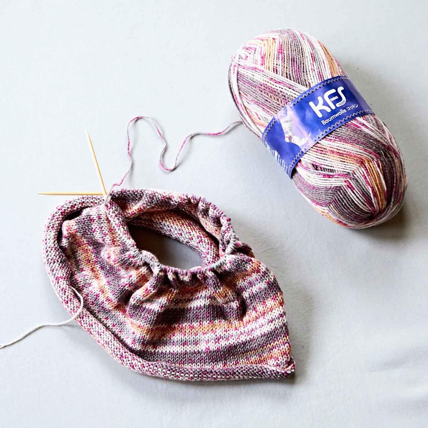 Opalの糸を編むのにぴったりの太さ。(※糸は別売りです。)