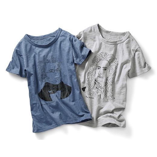 フェリシモ かっこいい大人になりたい! 偉人プリントTシャツの会