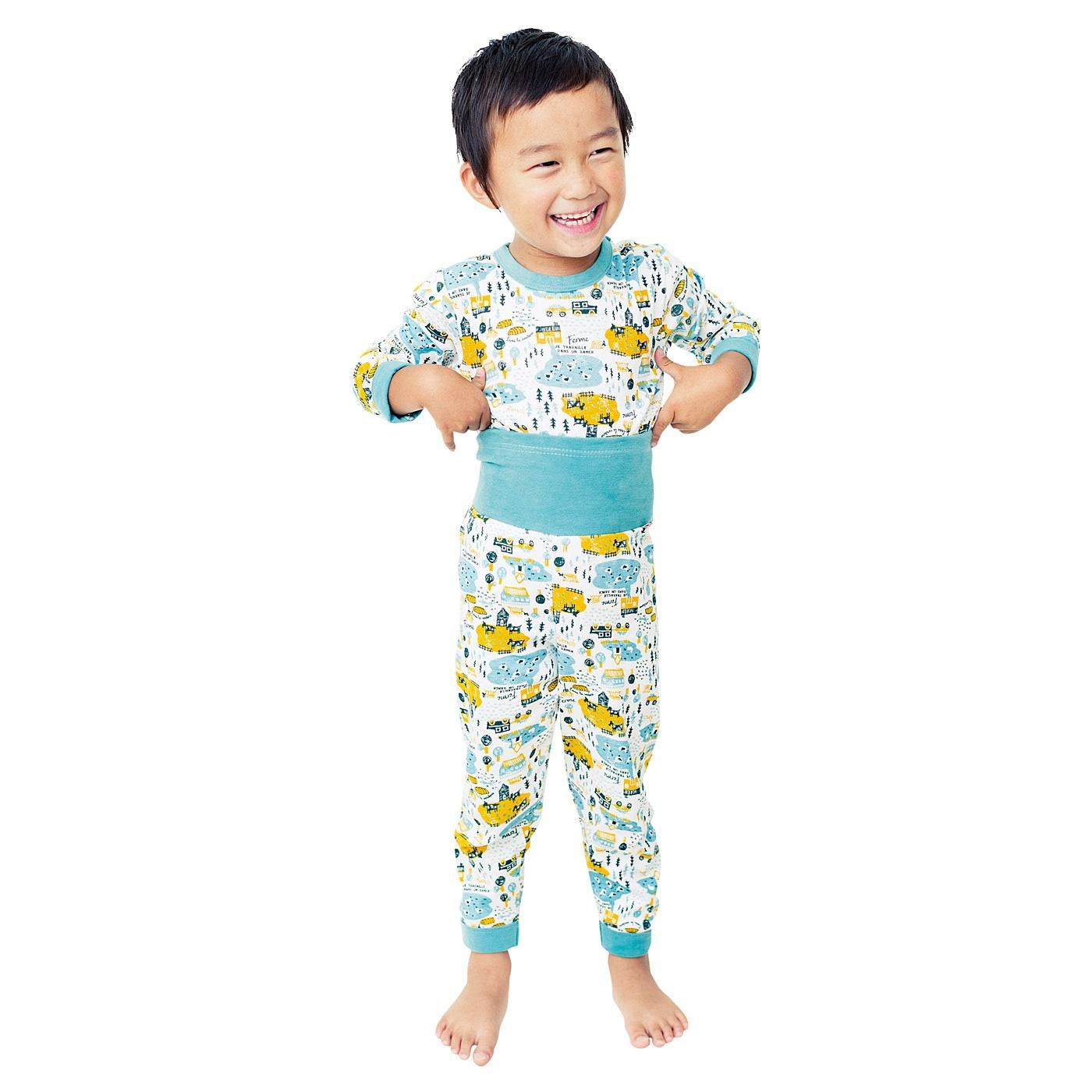 おなか出ないよ! はらまきドッキングイラストパジャマの会