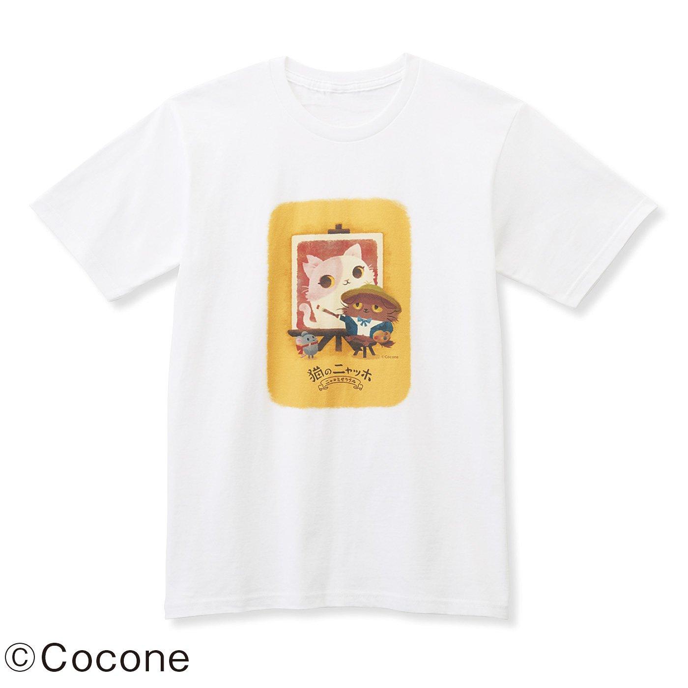 猫部×猫のニャッホ 地域猫チャリティーTシャツ2019